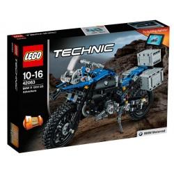 """LEGO TECHNIC 42063 Motocykl BMW R 1200 GS Adventure """"2 w 1"""" Model Koncepcyjny NOWOŚĆ 2017"""