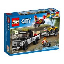 LEGO CITY 60148 Wyścigowy Zespół Quadowy NOWOŚĆ 2017