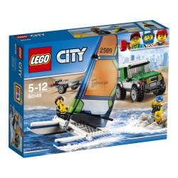 LEGO CITY 60149 Terenówka 4x4 z Katamaranem NOWOŚĆ 2017