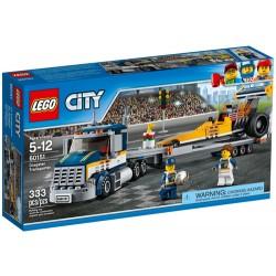 LEGO CITY 60151 Transporter Dragsterów NOWOŚĆ 2017