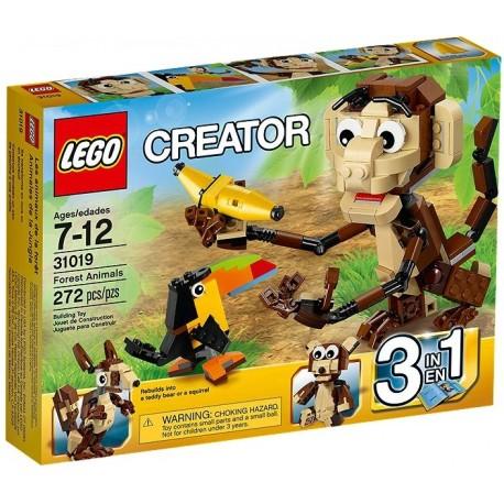 LEGO CREATOR 31019 Zawadiackie Zwierzęta
