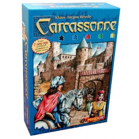 Mindok - 104636 - Gra - Carcassonne - Gra Podstawowa