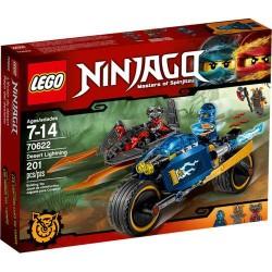 LEGO NINJAGO 70622 Pustynna Błyskawica NOWOŚĆ 2017