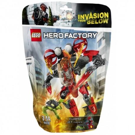 LEGO HERO FACTORY 44018 Maszyna Odrzutowa FURNO