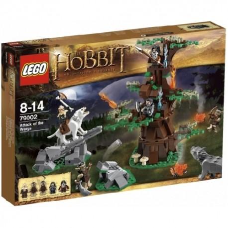 LEGO HOBBIT 79002 Atak Wargów