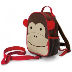 SKIP HOP 212203 Plecak Baby Mini ze Smyczą MAŁPKA