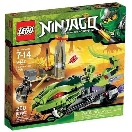 LEGO NINJAGO 9447 Gryzowóz Lashy