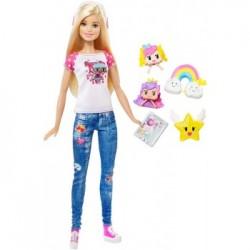 Mattel - DTV96 - Lalka - Barbie: Video Game Hero - Barbie w Świecie Gier Komputerowych - NOWOŚĆ 2017!