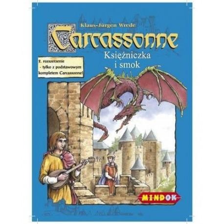 Mindok - 104639 - Gra - Carcassonne: Dodatek 3. Księżniczka i Smok