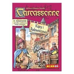 Mindok - 104638 - Gra - Carcassonne: Dodatek 2. Kupcy i Budowniczowie