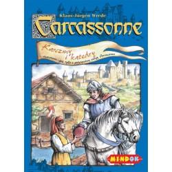 Mindok - 104637 - Gra - Carcassonne: Dodatek 1. Karczmy i Katedry
