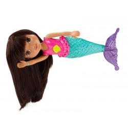 Fisher-Price CDR85 - Dora i Przyjaciele - Dora Syrenka ze Świecącym Ogonkiem - Dora do Kąpieli