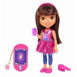 Fisher-Price DXB81 - Lalka Dora - Mówiąca Dora i Smartfonik