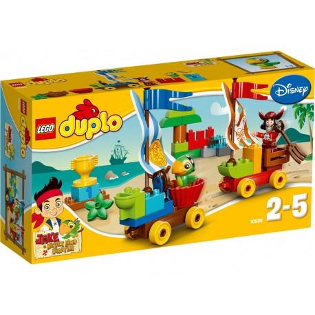 LEGO DUPLO 10539 Jake i Piraci z Nibylandii - Plażowe Wyścigi