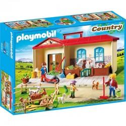 PLAYMOBIL 4897 Country - Farma - Przenośne GOSPODARSTWO ROLNE