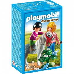 PLAYMOBIL 6950 Country - Konik - SPACER Z KUCYKIEM