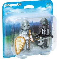 PLAYMOBIL 6847 Duo Pack - Rycerze - POJEDYNEK RYCERZY