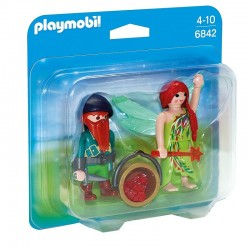 PLAYMOBIL 6842 Duo Pack - ELF I KRASNAL