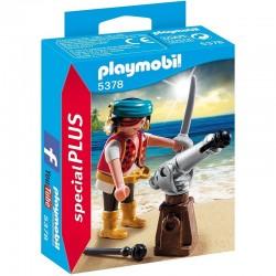 PLAYMOBIL 5378 Special Plus - PIRAT Z ARMATĄ