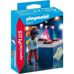 PLAYMOBIL 5377 Special Plus - Didżej - Disc Jockey - DJ Z