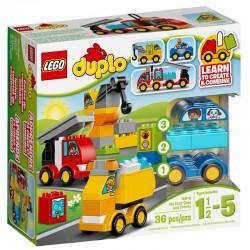 LEGO DUPLO 10816 Moje Pierwsze Pojazdy NOWOŚĆ 2017
