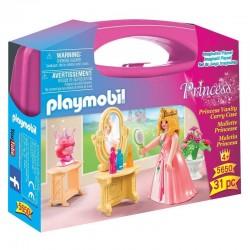PLAYMOBIL 5650 Princess - Przenośna Walizka - Księżniczki - TOALETKA