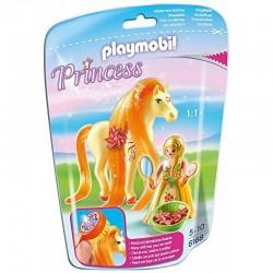 PLAYMOBIL 6168 Princess - Konik i Księżniczka - KSIĘŻNICZKA SUNNY