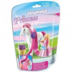 PLAYMOBIL 6166 Princess - Konik i Księżniczka - KSIĘŻNICZKA ROSALIA