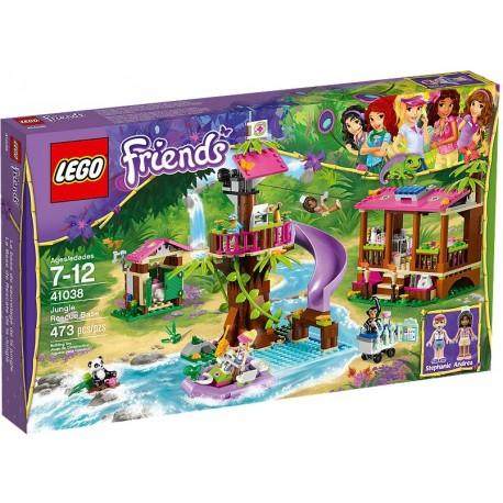 LEGO FRIENDS 41038 Dżungla Baza Ratownicza