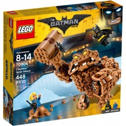 LEGO BATMAN MOVIE 70904 Atak Clayface'a NOWOŚĆ 2017