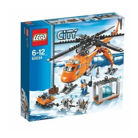 LEGO CITY 60034 Arktyczny Helikopter Dźwigowy