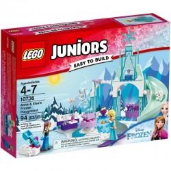 LEGO JUNIORS 10736 Plac Zabaw Anny i Elsy z Krainy Lodu NOWOŚĆ 2017