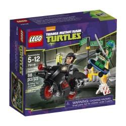 LEGO TURTLES 79118 Motocyklowa Ucieczka Karai