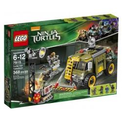 LEGO TURTLES 79115 Furgonetka Żółwii