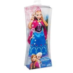 Mattel - Y9958 - Disney - Frozen - Lodu - Błyszcząca Anna - lalka 30 cm