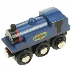 Bigjigs Toys - BJT436 - Lokomotywa Niebieska