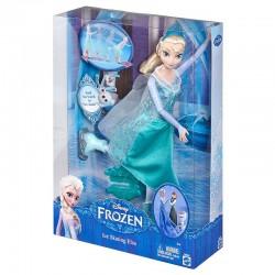 Mattel - CBC63 - Disney - Frozen - Kraina Lodu - Magiczna Łyżwiarka - Elsa - lalka 30 cm