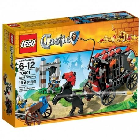LEGO CASTLE 70401 Ucieczka ze Złotem