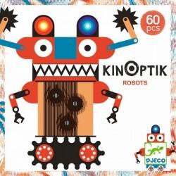 DJECO 05611 - Gra Wyobraźni 60 EL.- KINOPTIK ROBOTY