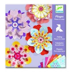 DJECO 09403 - Zestaw Dekoracyjny - Origami - KWIATY