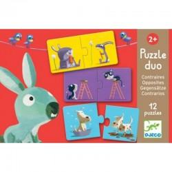 DJECO 08162 - Puzzle do Pary - PRZECIWIEŃSTWA
