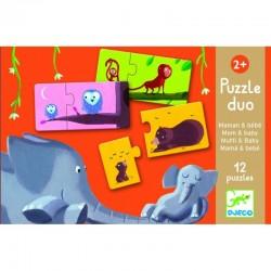 DJECO 08157 - Puzzle do Pary - MAMA I DZIECKO