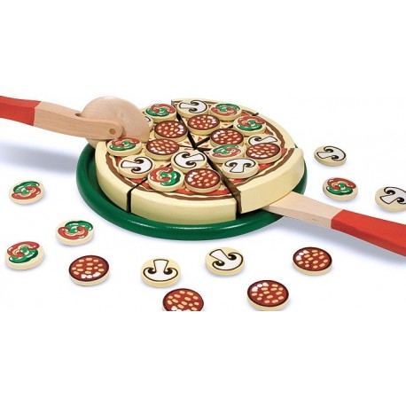 Melissa & Doug - 10167 - Drewniana Pizza do Krojenia
