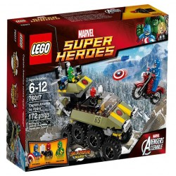 LEGO SUPER HEROES 76017 Kapitan Ameryka vs Hydra