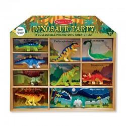MELISSA & DOUG 12666 - Kolekcja Dinozaurów - PRZYJĘCIE DINOZAURÓW