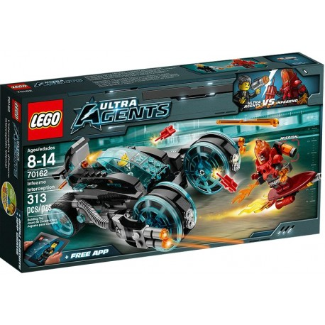 LEGO ULTRA AGENTS 70162 Kabriolet Agenta