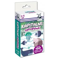 KAPITAN NAUKA 7837 - Zabawy i Gry Logiczne - KAPITALNE ŁAMIGŁÓWKI 4-5 LAT