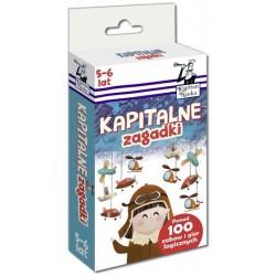KAPITAN NAUKA 7838 - Zabawy i Gry Logiczne - KAPITALNE ZAGADKI 5-6 LAT