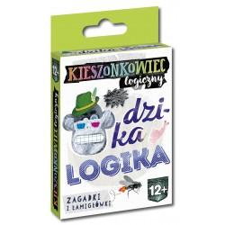 KAPITAN NAUKA 7912 - Gra Karciana Kieszonkowiec Logiczny - DZIKA LOGIKA