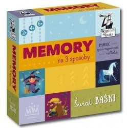 KAPITAN NAUKA 6144 - Gra Memory - ŚWIAT BAŚNI